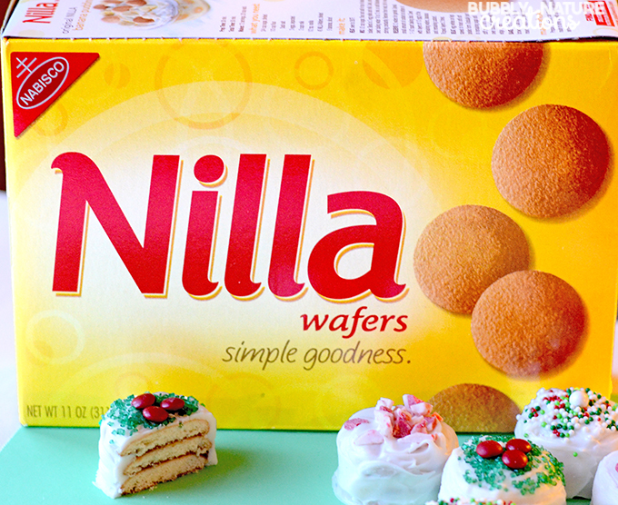 Nilla Wafer Cake Bites