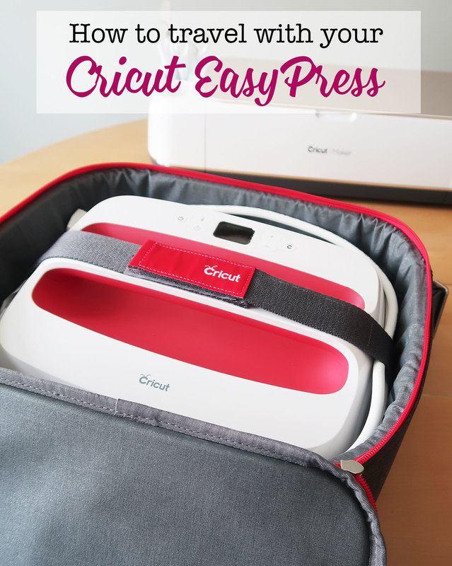 How to travel with your Cricut EasyPress