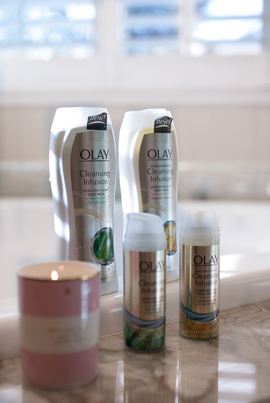Olay Cleansing Infusions review and #Glowup Results