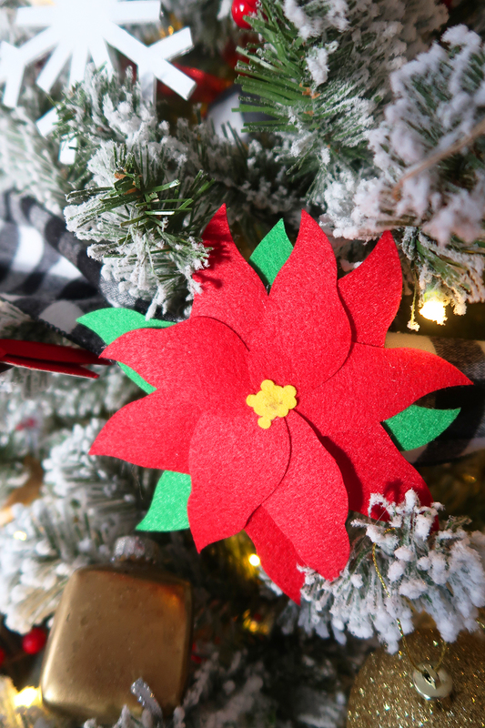 DIY Poinsettia Cricut Maker