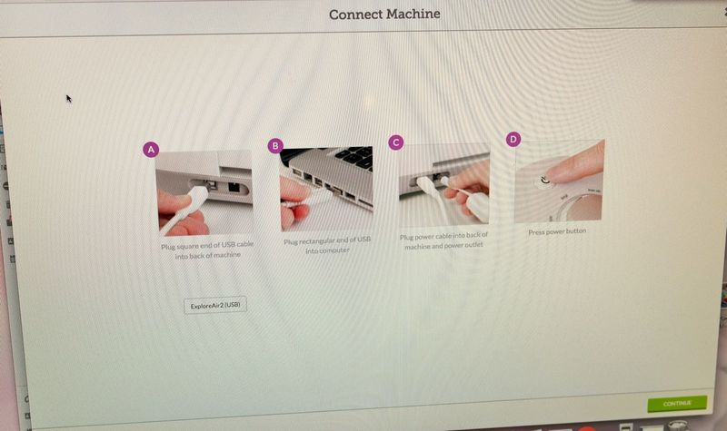 how to setup up cricut