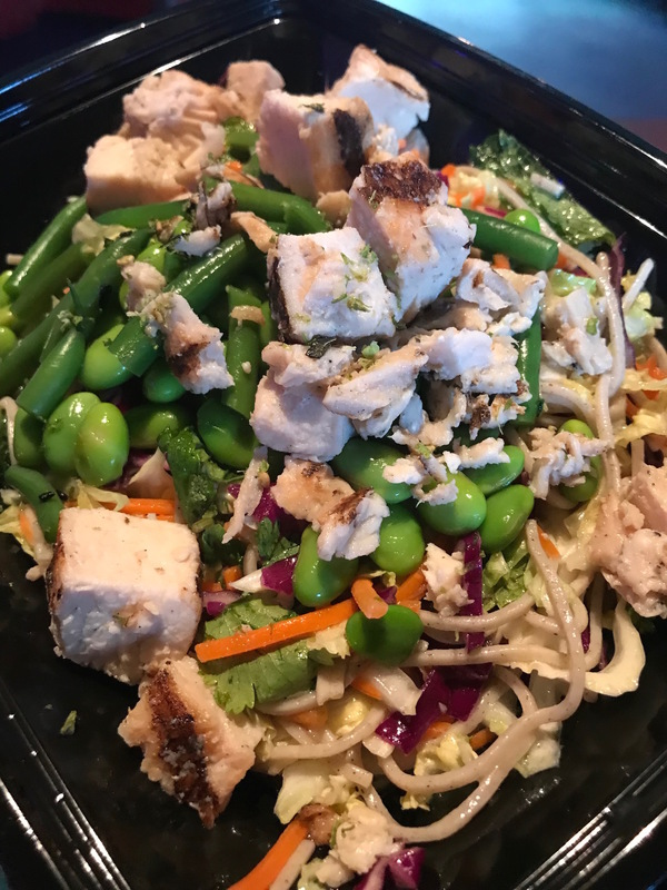 Chicken Soba Noodle Salad with Edamame