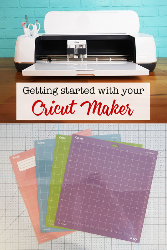 Getting Started with your Cricut Maker