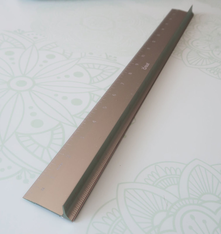 Cricut ruler