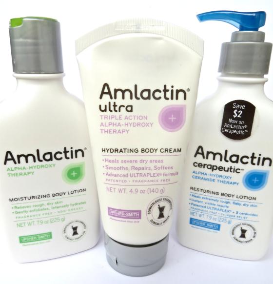Amlactin Body Lotions and Creams