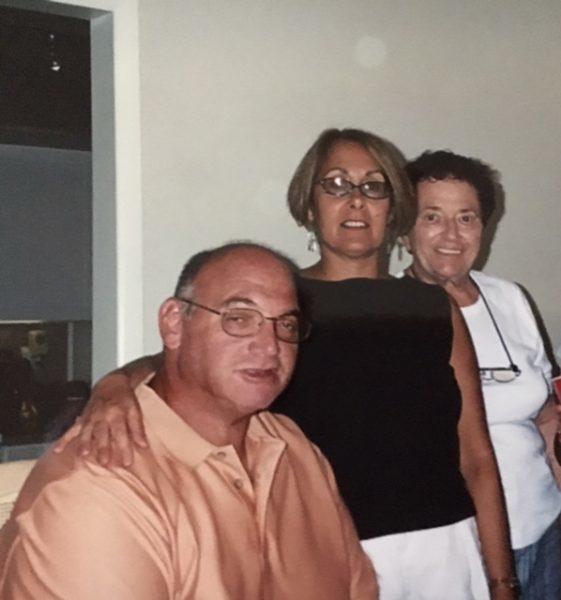 Mr. S, Me & my cousin Sheila.