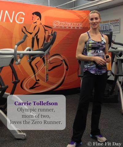 Octane Fitness Zero Runner - Carrie Tollefson