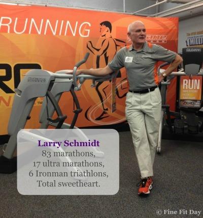 Octane Fitness Zero Runner - Larry Schmidt