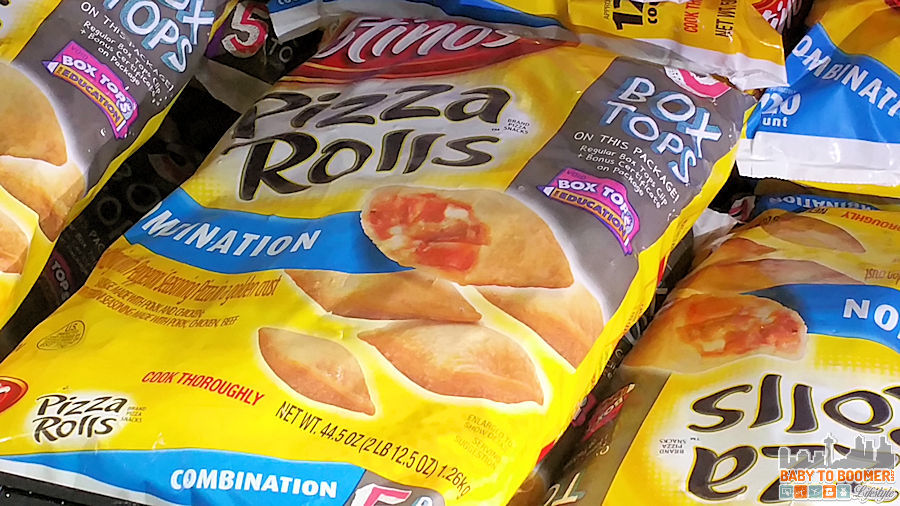 Box Tops for Education Pizza Rolls