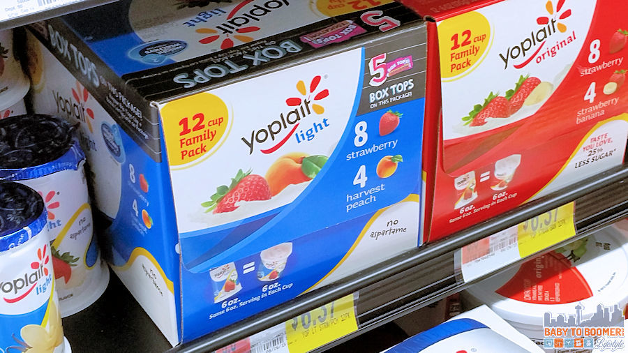 Box Tops for Education Yoplait