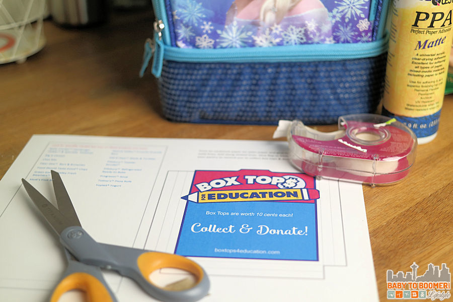 Box tops for Education Print