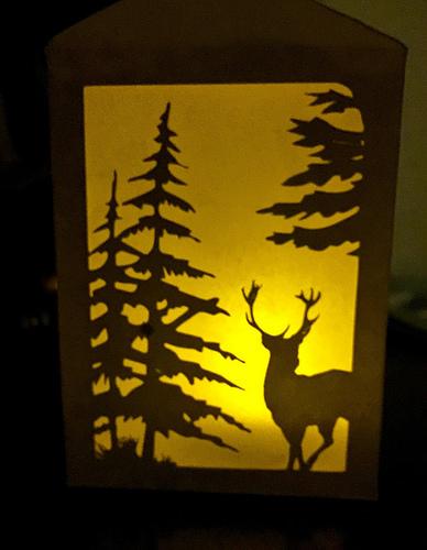 finished lantern