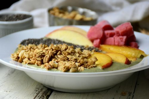 creamy protein packed smoothie bowl