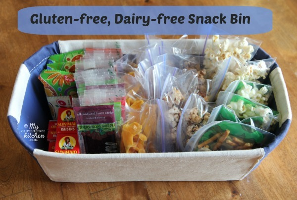 School safe snacks for your gluten free kids having a snack bin full of pre portioned ready to grab snacks has been such a help it makes before and after school go so much smoother as my kids know negle Gallery