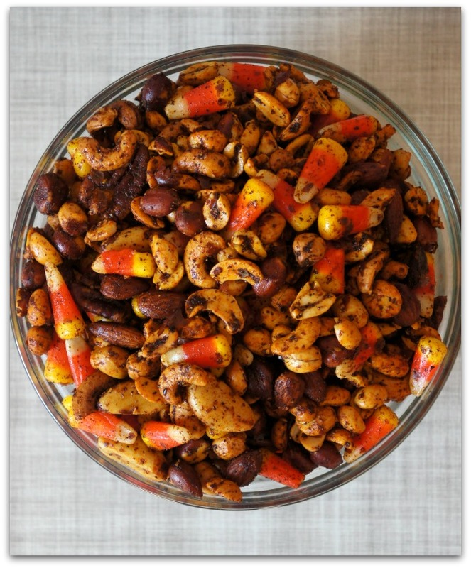 Recipe for chili spiced nuts that are gluten free and oh so tasty!