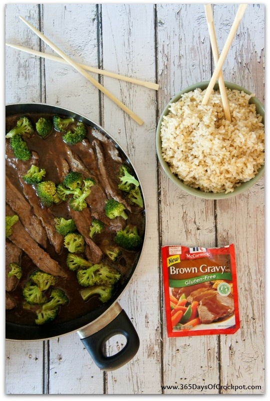 A gluten-free recipe for beef and broccoli that tastes so good!