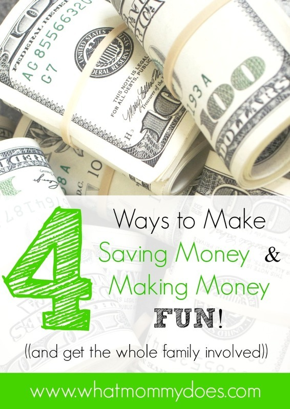 How to Make Saving Money & Making Money Fun!