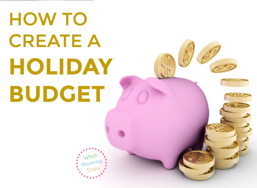 get this free holiday budget worksheet