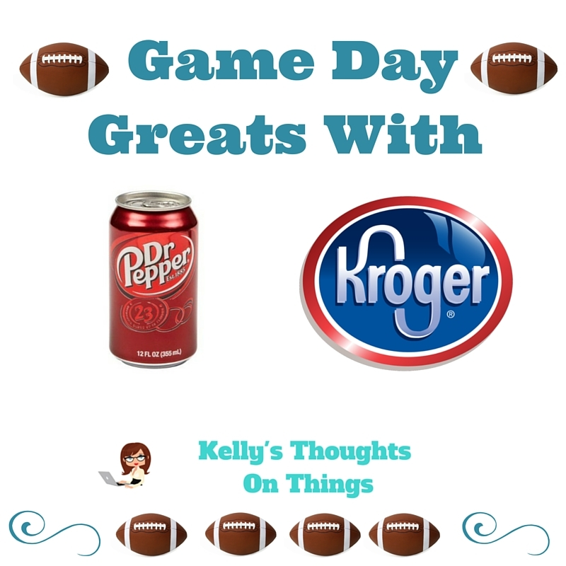 Game Day Greats with Dr Pepper and Kroger's