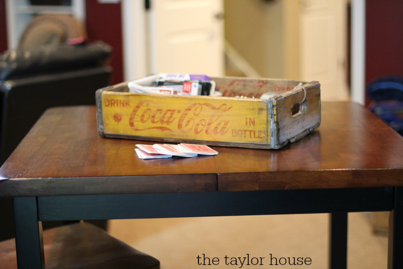 Basement decorating, Table Ideas, Sauder Furniture