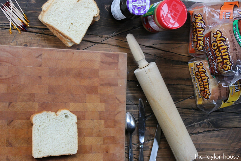 Peanut Butter and Jelly Roll Ups