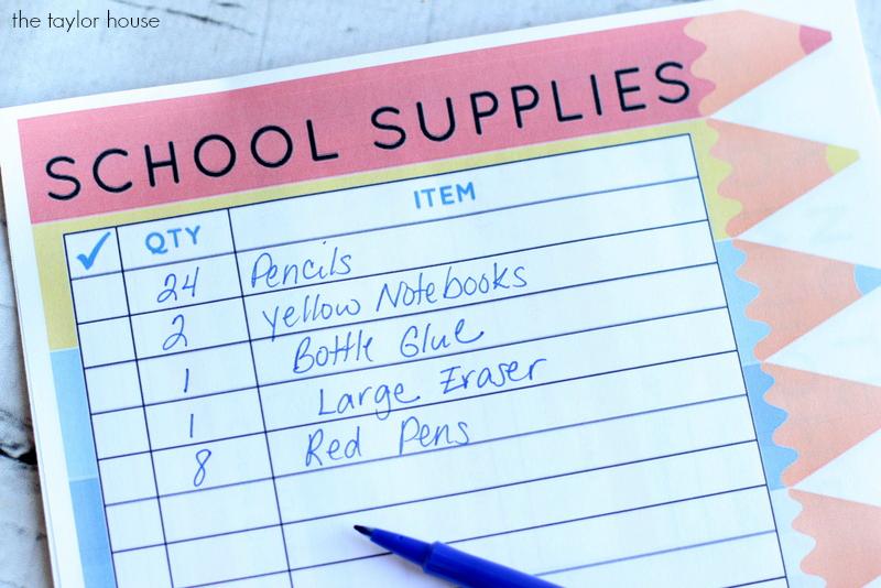 Back to school Organization!