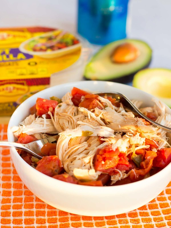 You'll love these fun Slow Cooker Chicken Tacos. They only need a few ingredients and are a perfect family dinner!