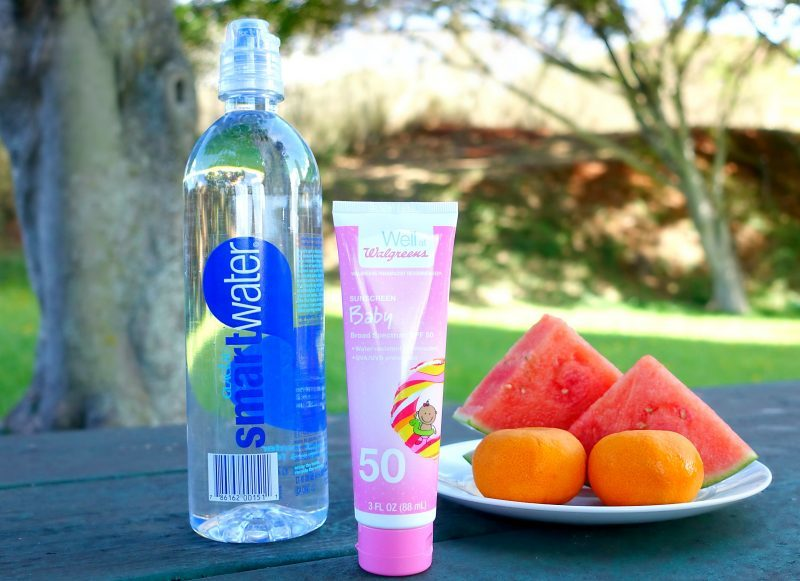 Kick Summer into High Gear w/ Walgreens Baby Sunscreen + smartwater | AD |