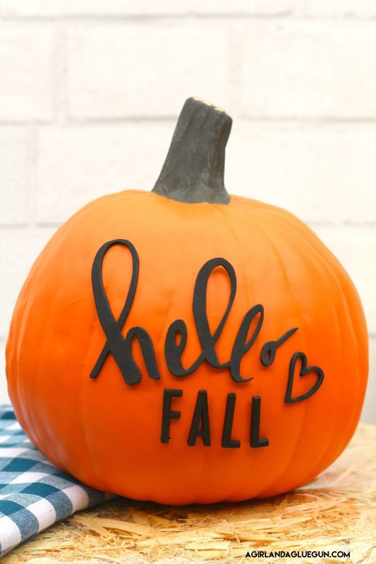 Letterboard Pumpkins And Fall Decorating Ideas A Girl And A Glue Gun