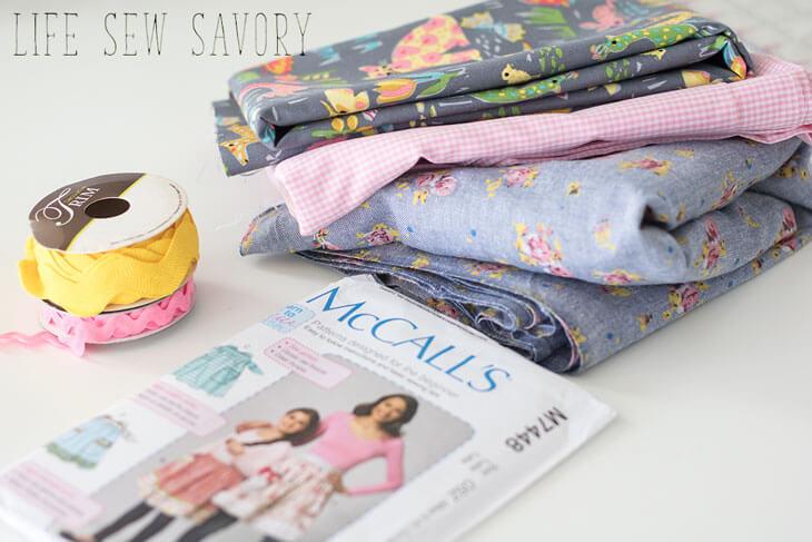 spring fabric from Hobby Lobby