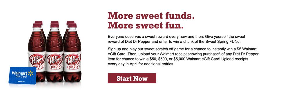 DIET DR PEPPER® #SweetFUNd AT WALMART - Slick Housewives