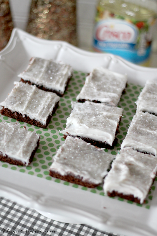 frosted brownies