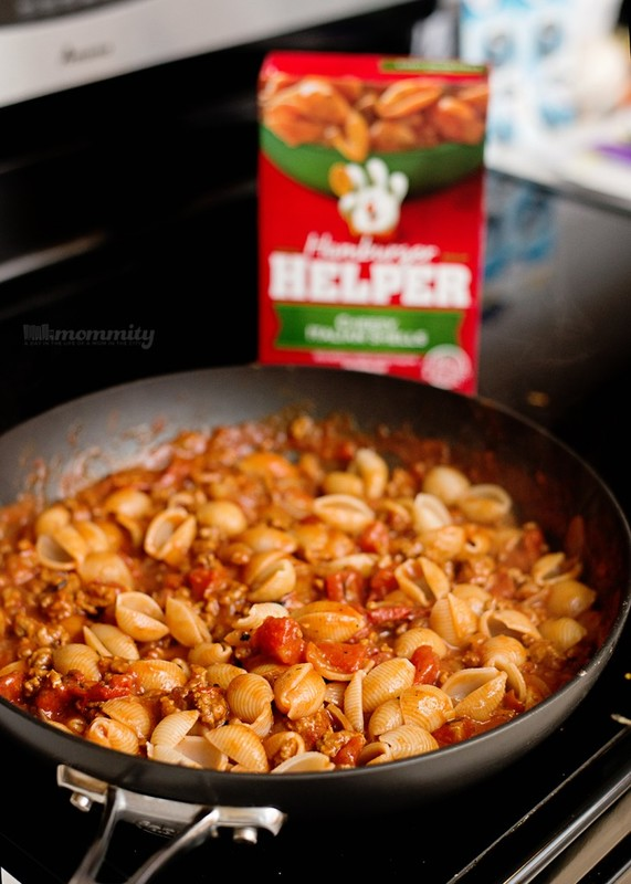Cheesy Italian Goulash - This is a delicious way to get creative with Hamburger Helper®! This is a must pin!