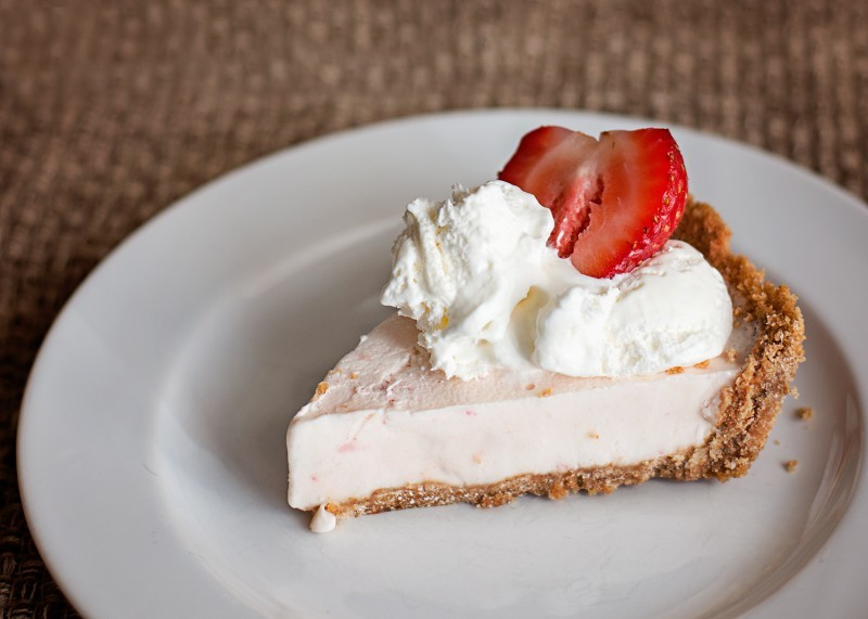 Skip the Heavy Summer Time Desserts and Make a Yogurt Pie!