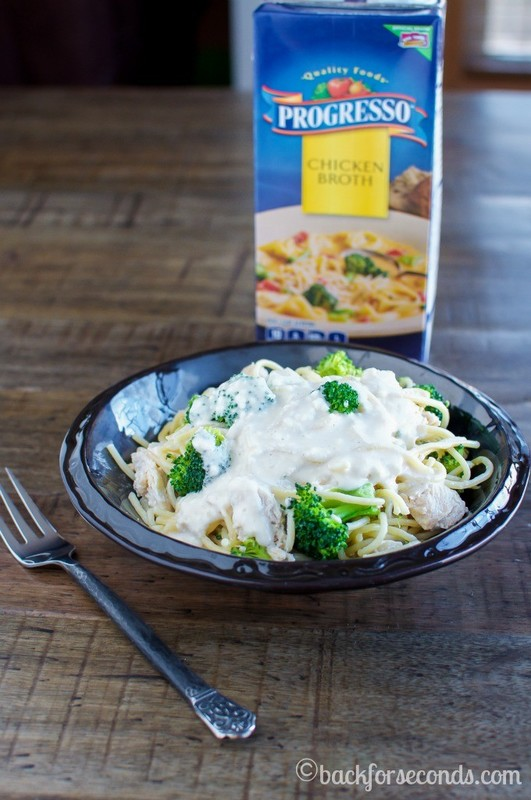 Creamy Chicken Broccoli Pasta - Easy Dinner Ready in 20 minutes!