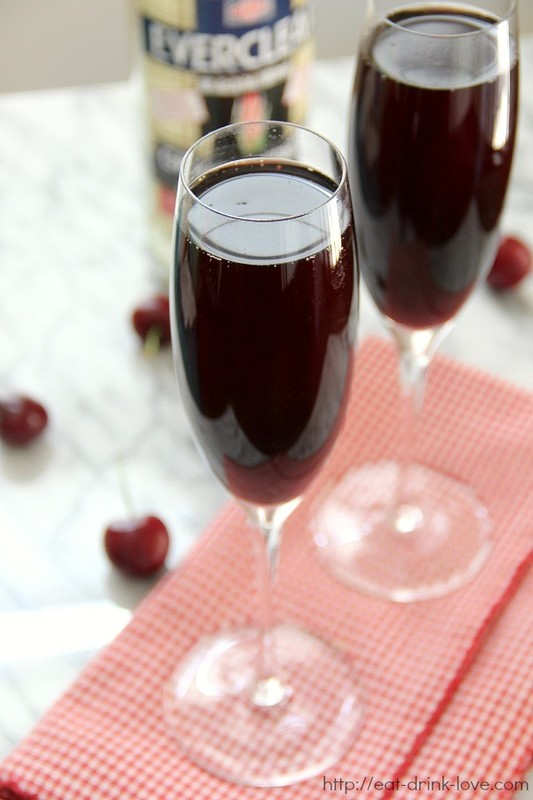 Cherry Bellinis