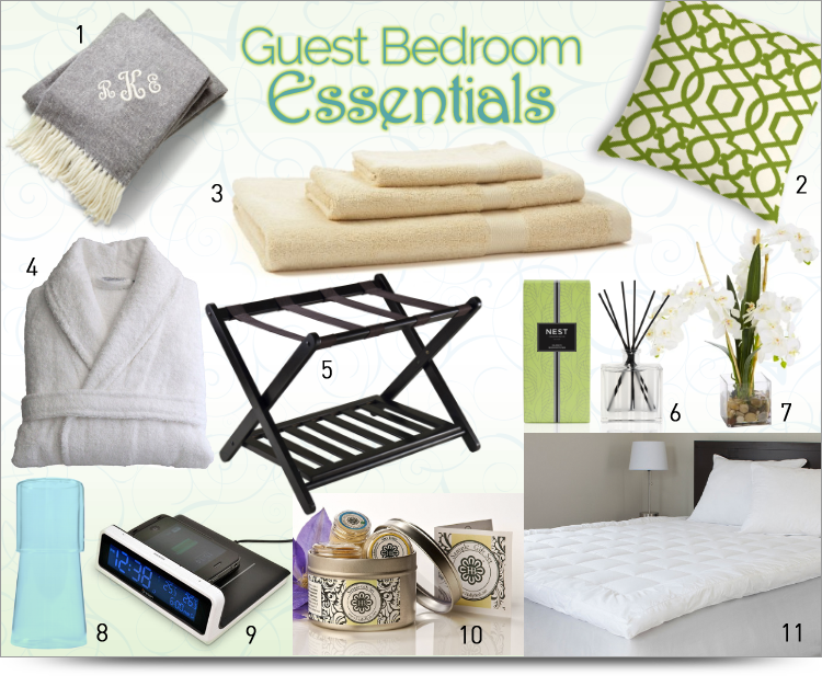 HOME: 11 Guest Bedroom Essentials To Create A Hotel Like Retreat For The  Holidays #BBNshops #ad