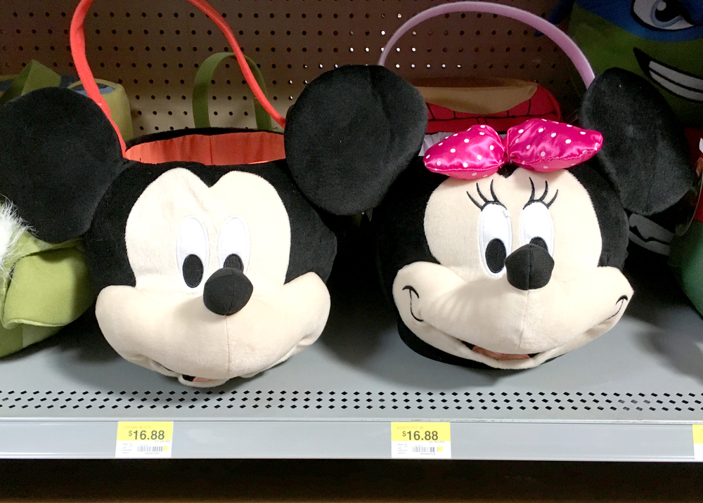 Minnie and Mickey Easter Baskets!