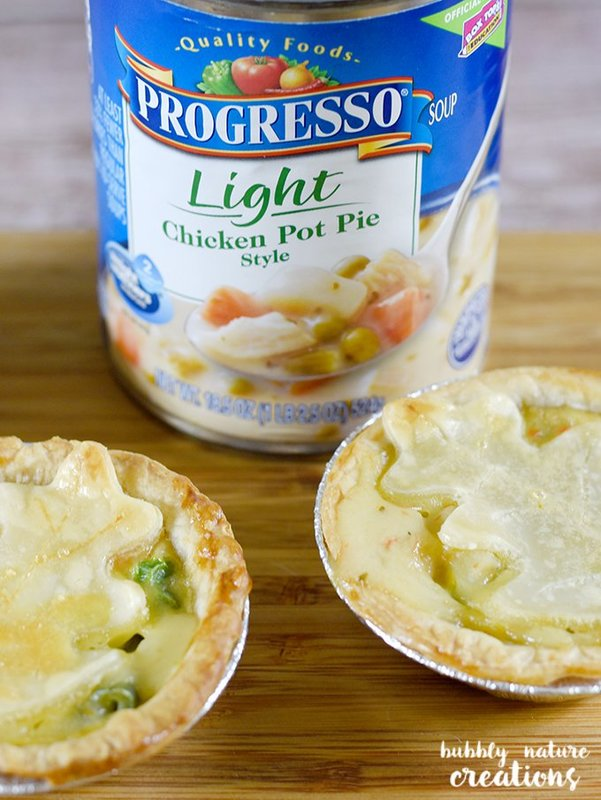 Mini Chicken Pot Pies!. These cute little pies are made with just a few ingredients and are perfect as an appetizer as well as a main dish! I love pot pies!
