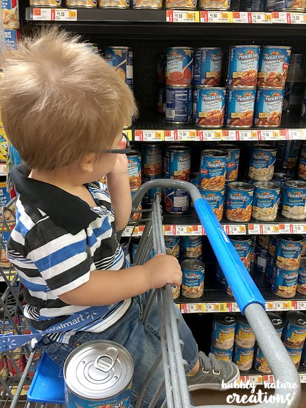 Progresso Soups at Walmart