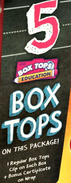 Box Tops for Education = Free Money for your School