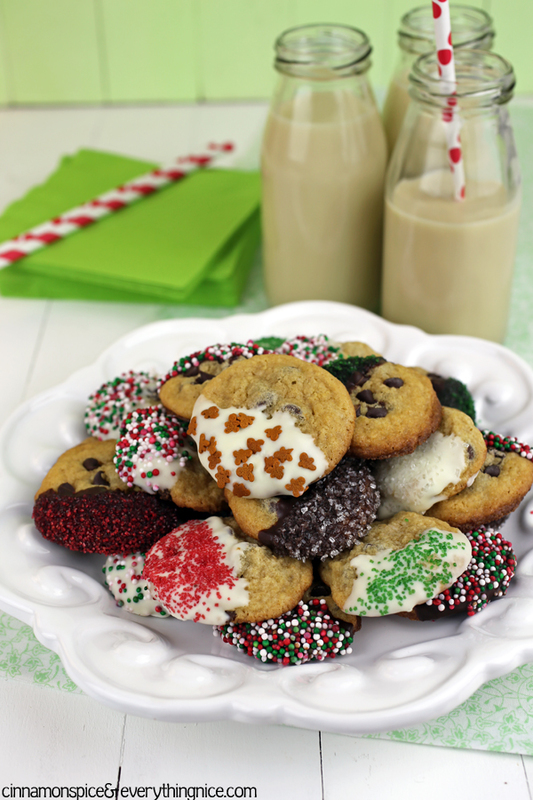 Chocolate Chip Christmas Cookies | Cinnamon-Spice & Everything Nice