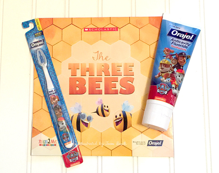 The Three Bees and Orajel