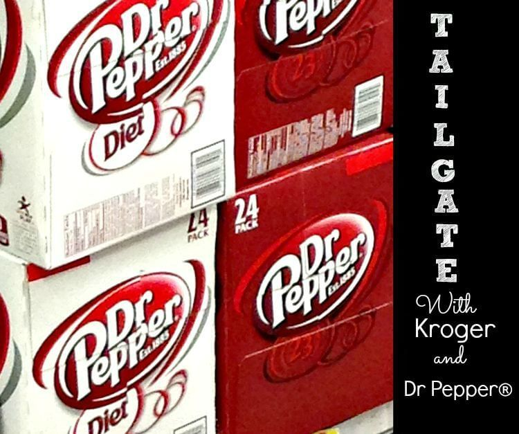 Tailgate with Kroger and Dr. Pepper