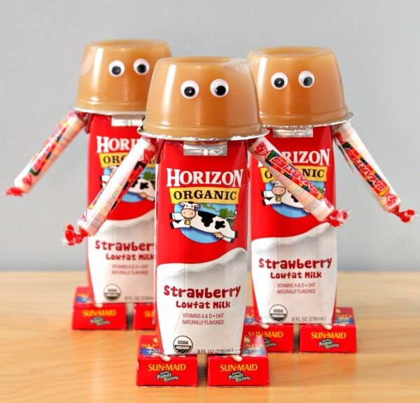 Milk Robots Lunchbox Hack