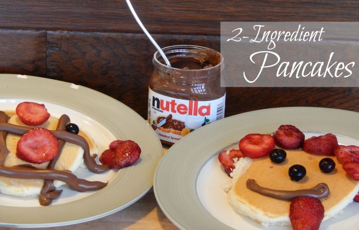 2-Ingredient Pancake Recipe Feature