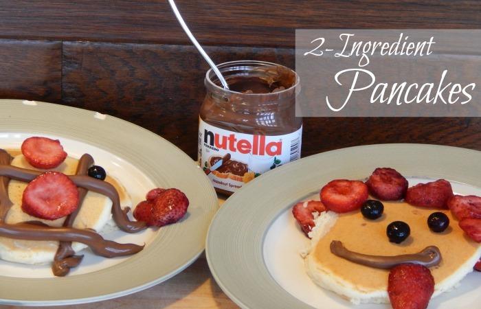 2-Ingredient Pancake Recipe Feature