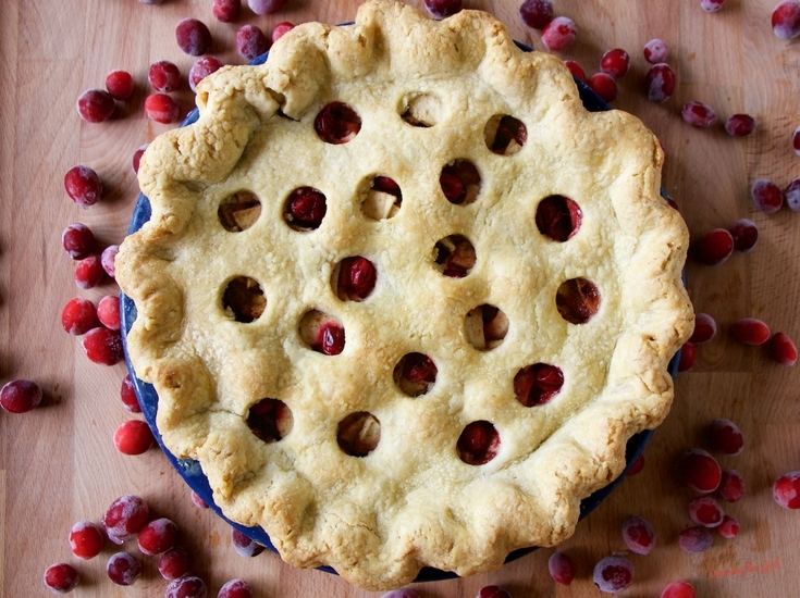 Apple Cranberry Pie Recipe, Ocean Spray® Cranberry Classroom,