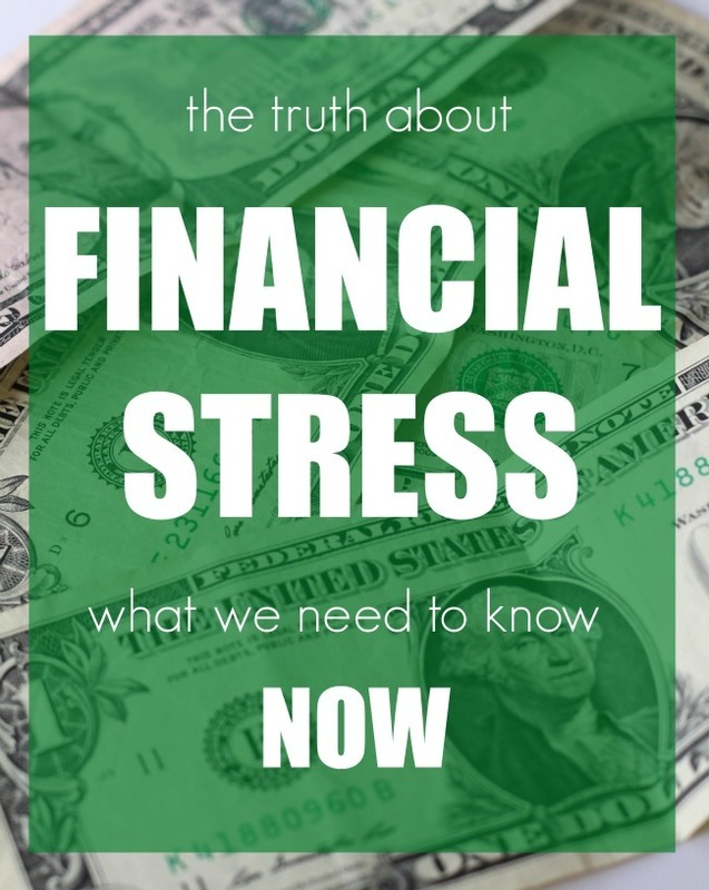 The Truth About Financial Stress | What You Need to Know Now