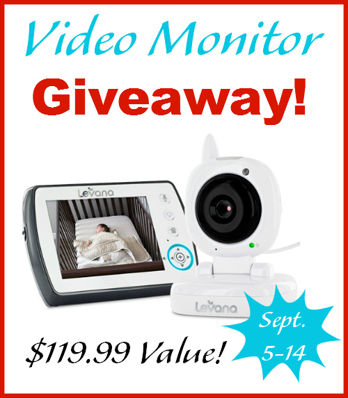 The best baby video montior giveaway